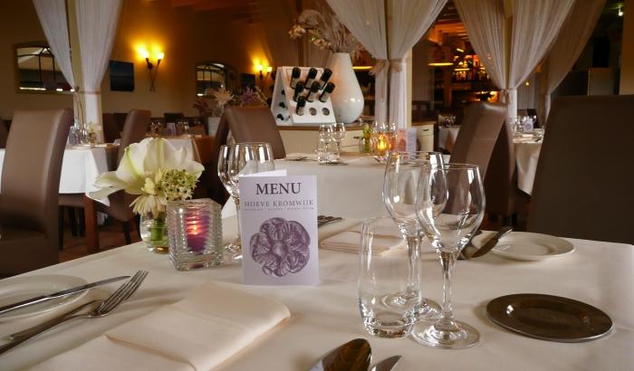 Restaurant Hoeve Kromwijk In Zoetermeer