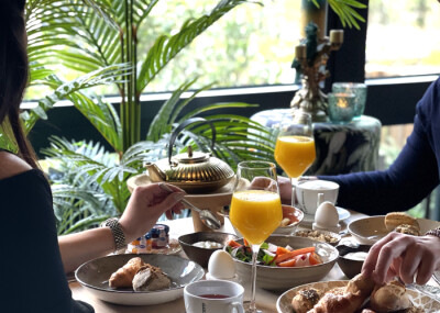 Overnachting Twin Deluxe kamer + ontbijt